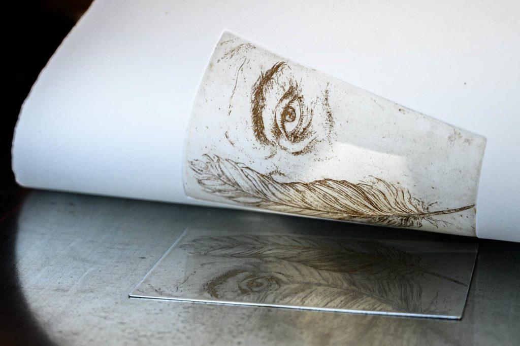 occhio stampato calcografia fotografo artigiani