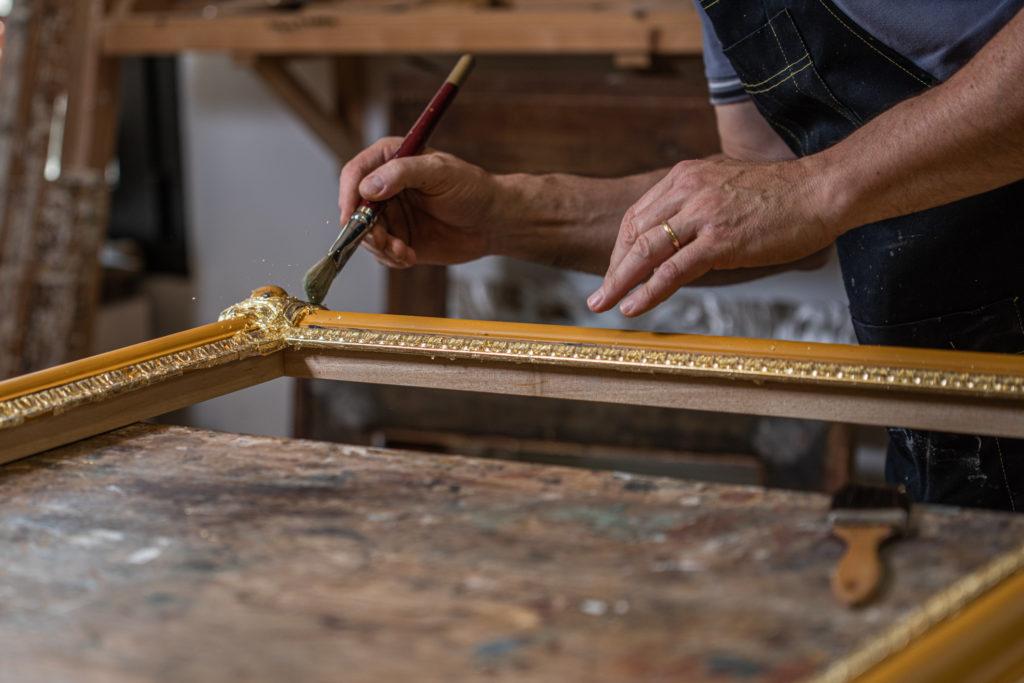 fotografo-artigiani-pennello-cornice